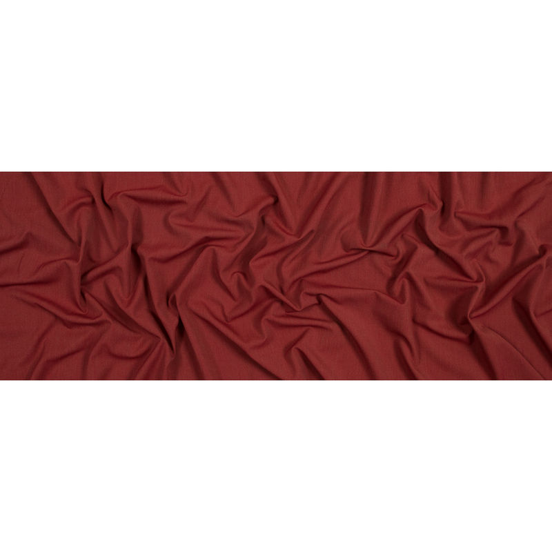 Red and Green Stretch Polyester Woven - Full