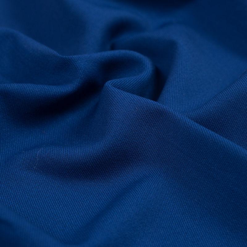 Oscar de la Renta Royal Blue Wool and Rayon Stretch Twill - Detail