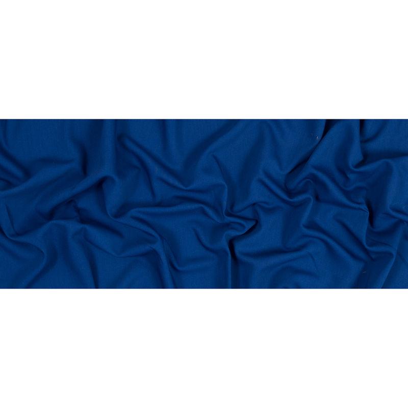 Oscar de la Renta Royal Blue Wool and Rayon Stretch Twill - Full