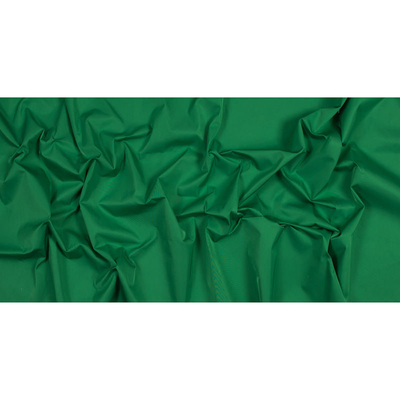Grass Green Water-Resistant Polyester Twill - Full