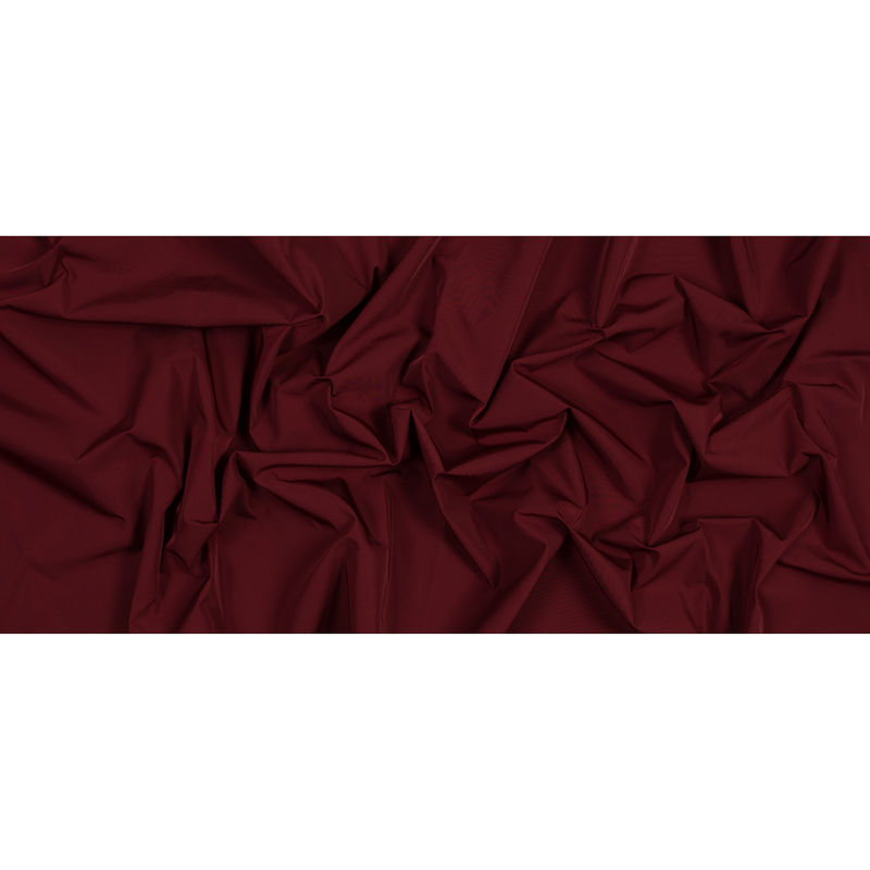 Cranberry Water-Resistant Polyester Twill - Full