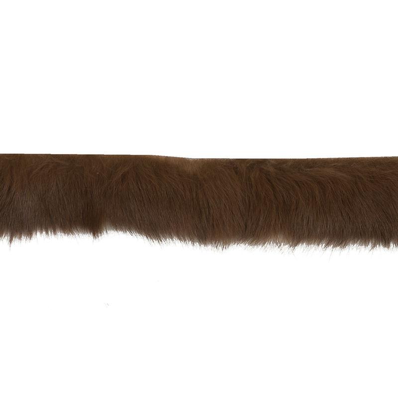 Medium Brown Fur Trim - 1 - Detail