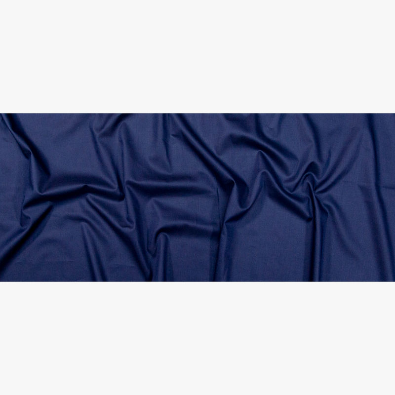 Toulouse Navy Mercerized Cotton Voile - BCI and Oeko-Tex Certified - Full