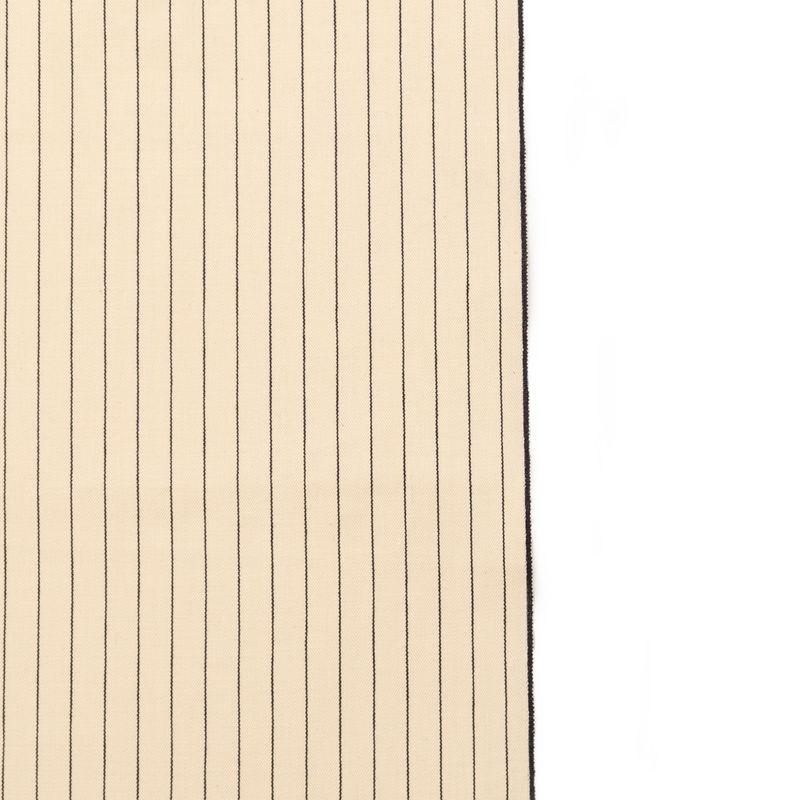Rag & Bone Beige and Black Pencil Striped Selvedge Denim - Detail