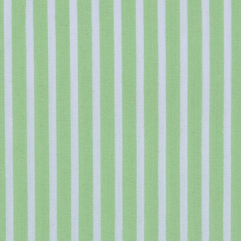 Ralph Lauren Paradise Green/White Candy Striped Stretch Cotton Shirting - Detail