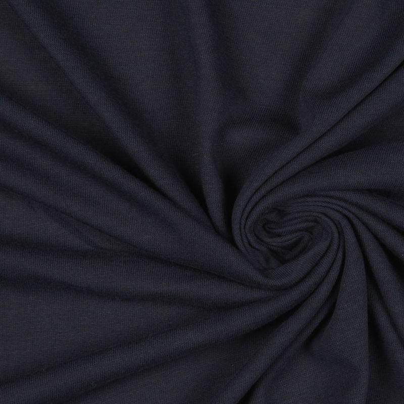 Donna Karan Navy Cotton Jersey - Detail