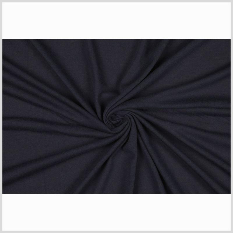 Donna Karan Navy Cotton Jersey - Full