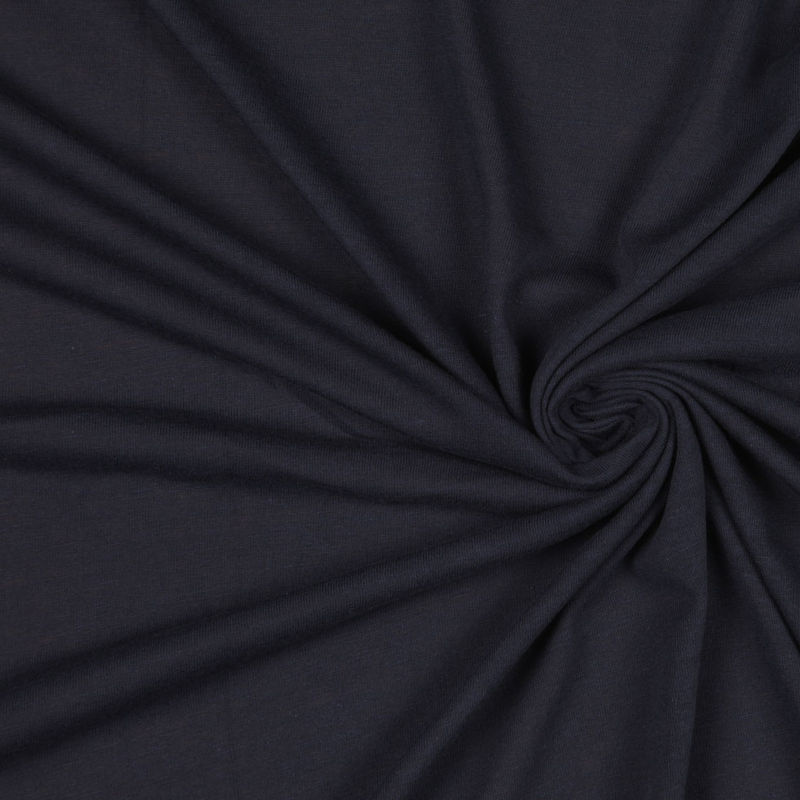Donna Karan Navy Cotton Jersey