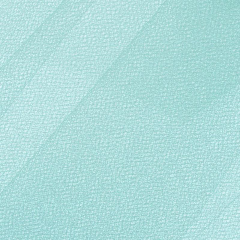 Aqua Solid Nylon Tulle - Detail