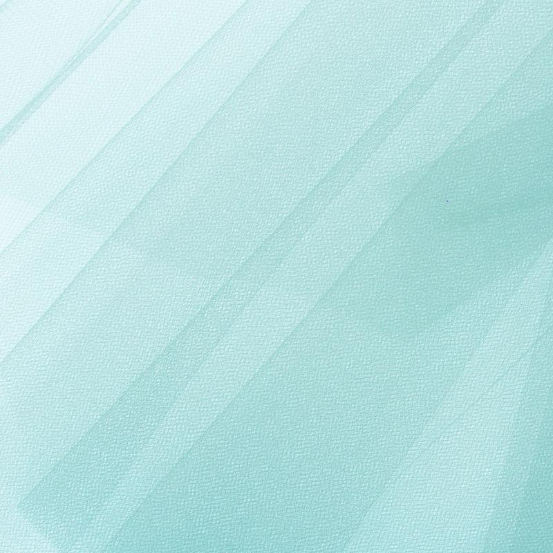 Aqua Solid Nylon Tulle