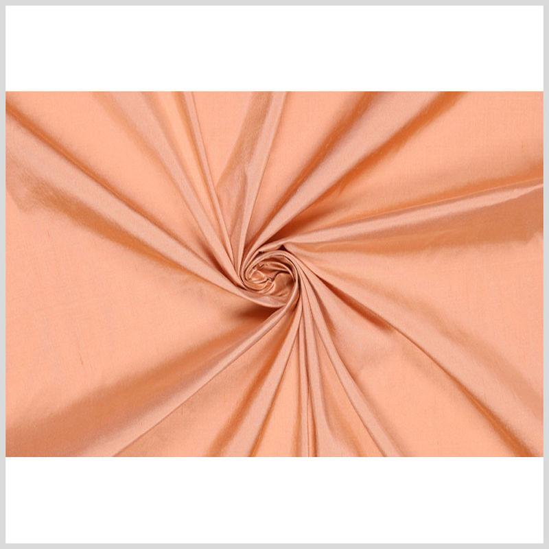 Dark Peach Solid Shantung/Dupioni - Full