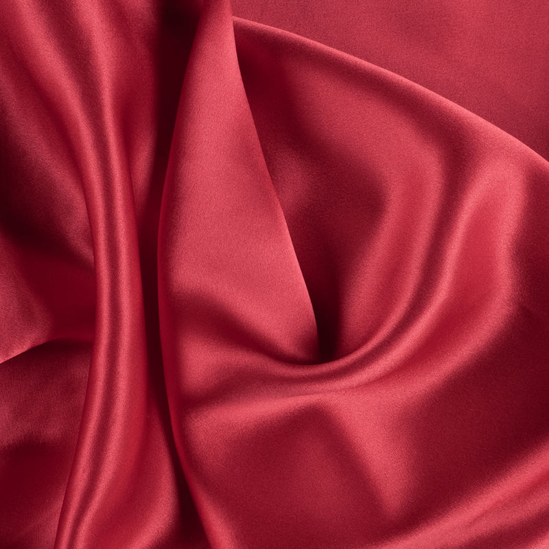 Red Silk Charmeuse
