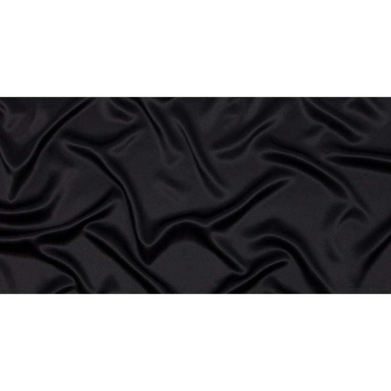 Black Silk Charmeuse - Full