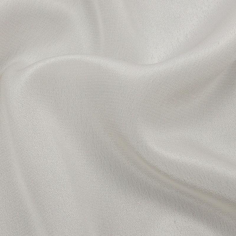 Antique White Silk Crepe de Chine - Detail