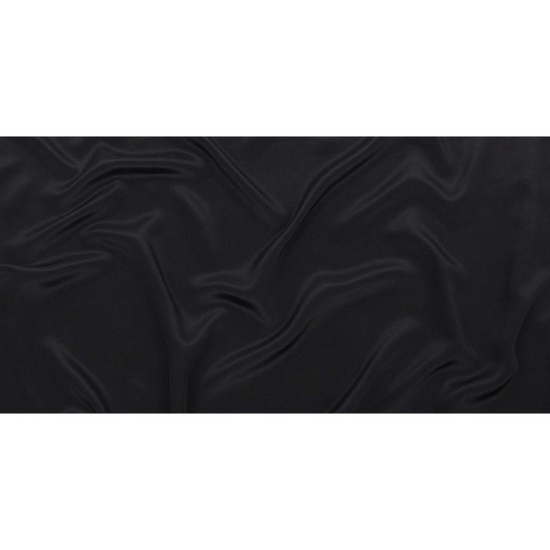 Black Silk Crepe de Chine - Full