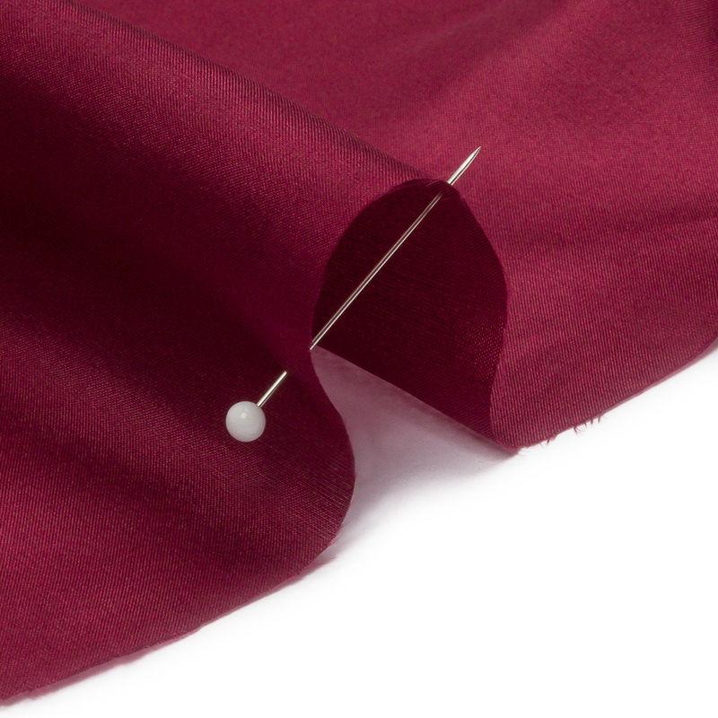 Maroon China Silk/Habotai - Detail