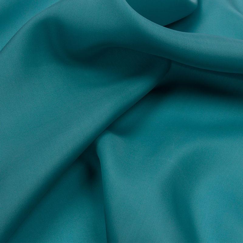Colonial Blue Wide Silk Satin Face Organza