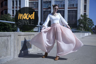 Related Mood Sewciety Post - Mood Style: Quick & Easy Pleated Chiffon Pants