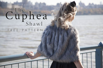 Related Mood Sewciety Post - The Cuphea Shawl - Free Sewing Pattern