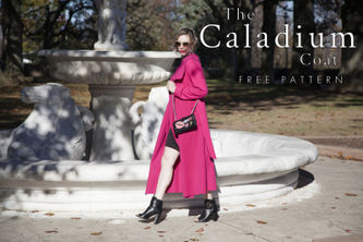 Related Mood Sewciety Post - The Caladium Trench - Free Sewing Pattern