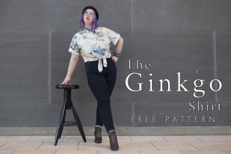Related Mood Sewciety Post - The Ginkgo Shirt - Free Sewing Pattern