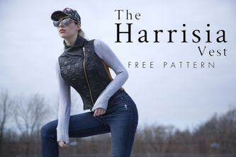 Related Mood Sewciety Post - The Harrisia Vest - Free Sewing Pattern