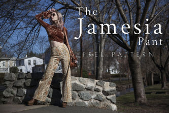 Related Mood Sewciety Post - The Jamesia Pants - Free Sewing Pattern