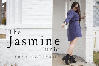 Related Mood Sewciety Post - The Jasmine Tunic - Free Sewing Pattern