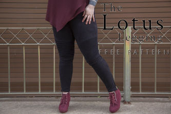 Related Mood Sewciety Post - The Lotus Leggings - Free Sewing Pattern