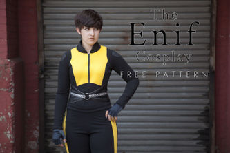 Related Mood Sewciety Post - The Enif Cosplay - Free Negasonic Sewing Pattern