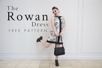 Related Mood Sewciety Post - The Rowan Dress - Free Sewing Pattern