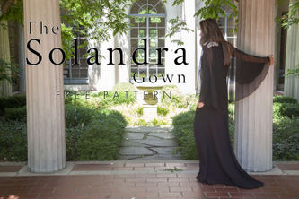 Related Mood Sewciety Post - The Solandra Gown - Free Sewing Pattern