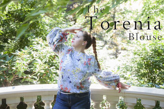 Related Mood Sewciety Post - The Torenia Blouse - Free Sewing Pattern