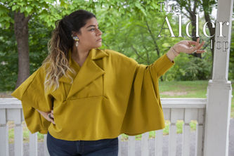 Related Mood Sewciety Post - The Alder Top - Free Sewing Pattern