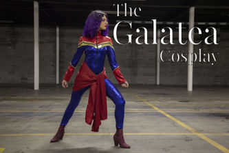 Related Mood Sewciety Post - The Galatea Cosplay - Free Captain Marvel Sewing Pattern