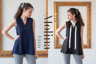Related Mood Sewciety Post - The Molina Tunic - Free Sewing Pattern