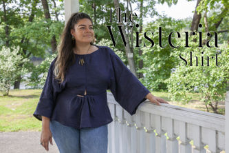 Related Mood Sewciety Post - The Wisteria Shirt - Free Sewing Pattern